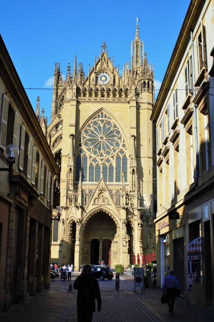 Hauptportal Saint Etienne Metz