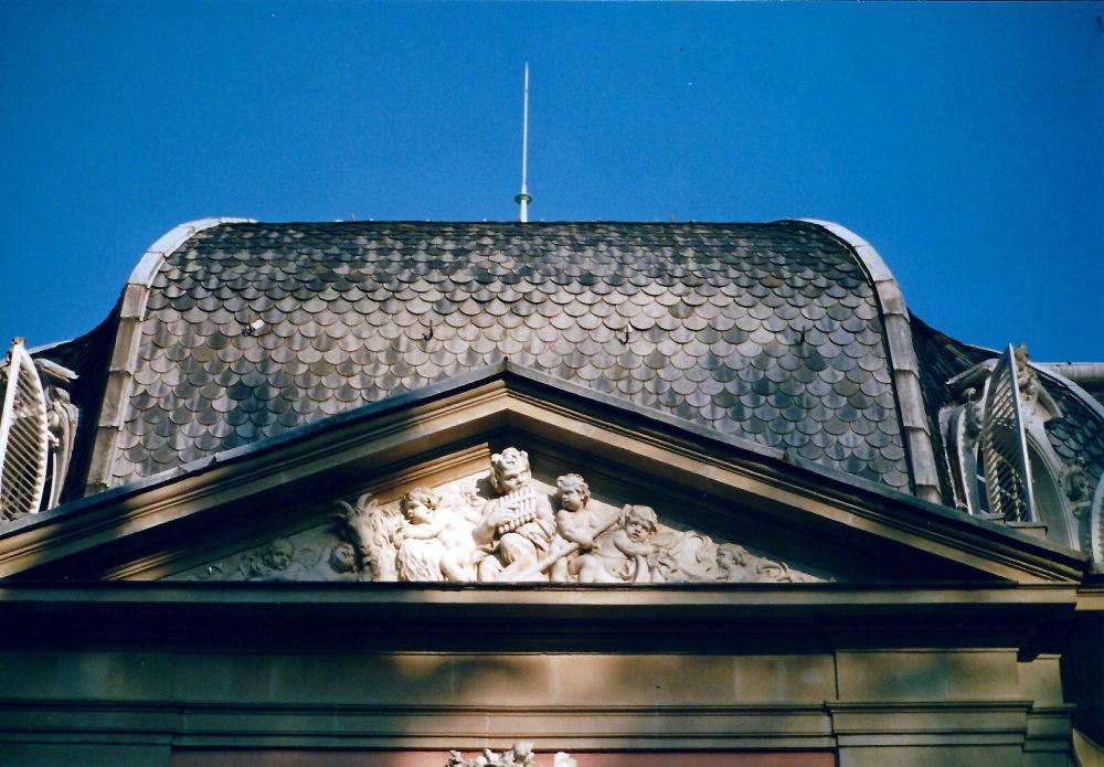 Dach Schloss Benrath
