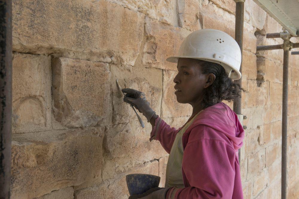 äthiopischer Tempel Yeha;