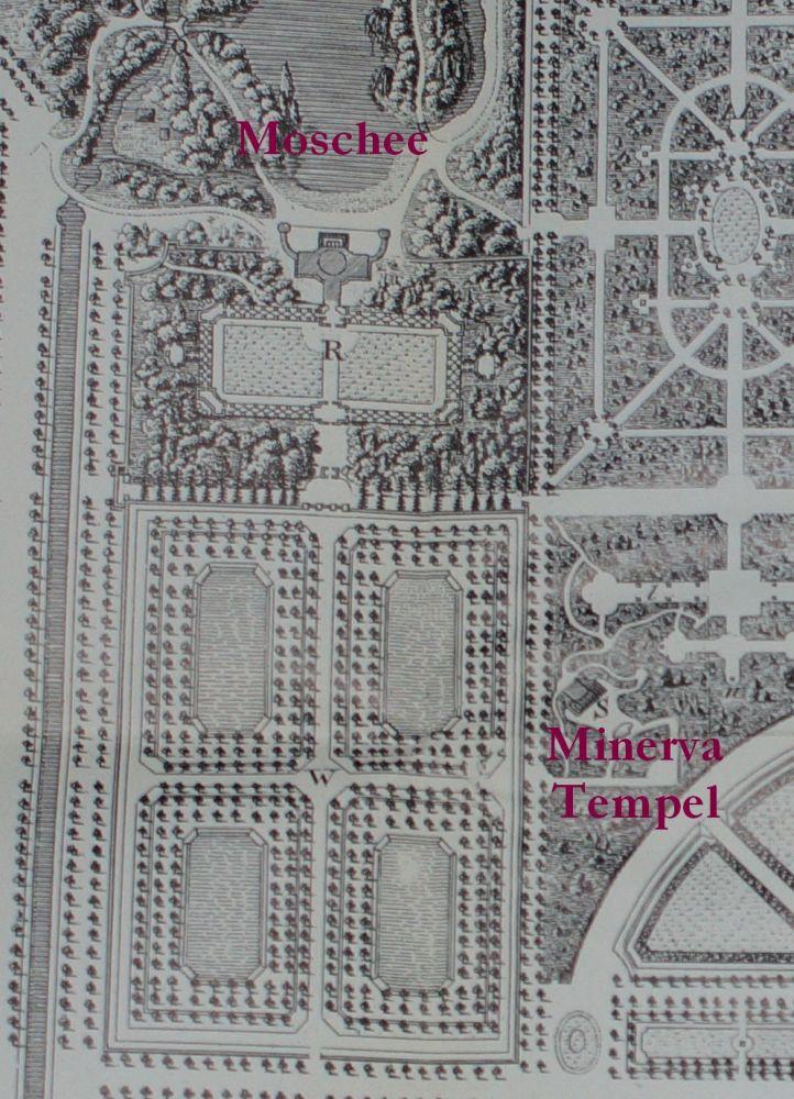 Gartenplan Ausschnitt Moschee
