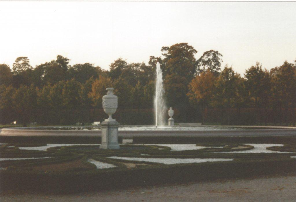Schwetzingen Fontänenbrunnen