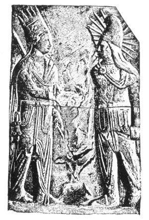 Mithras und Antiochos