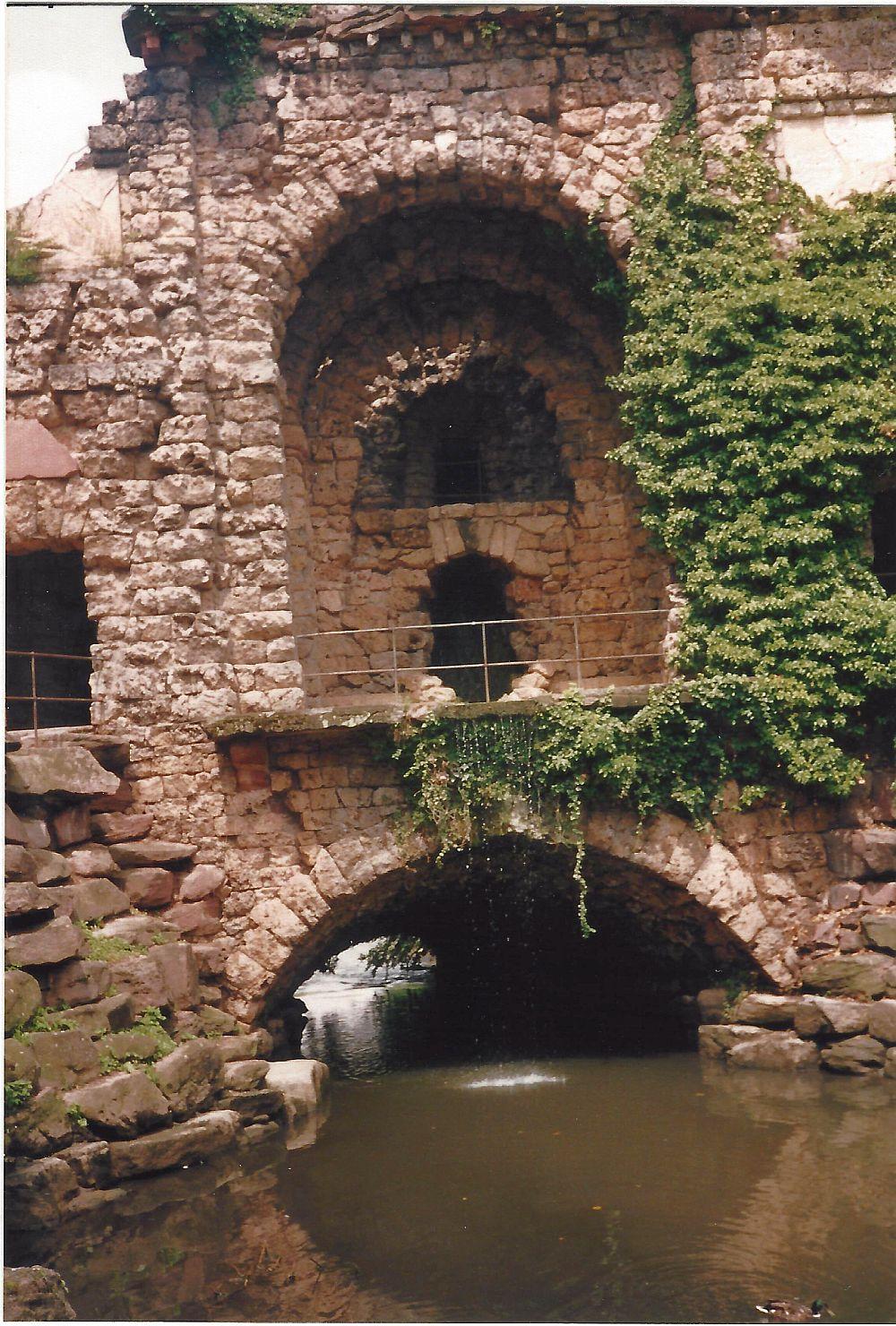 Wasserkastell Schwetzingen