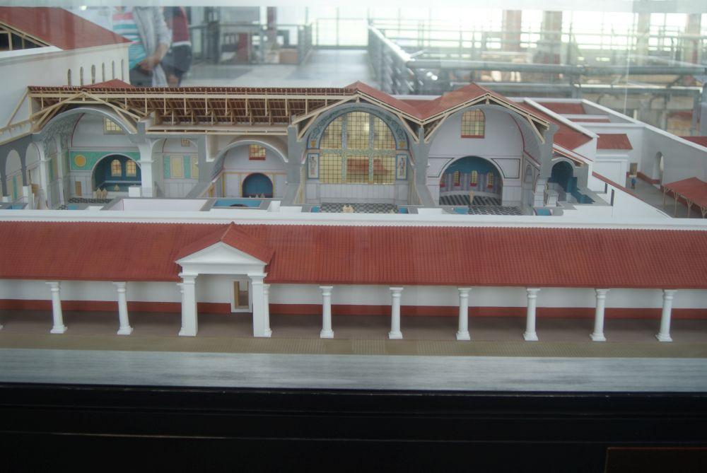 Archäologischer Park Xanten - Modell Thermen