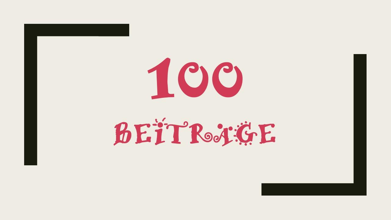 100 Beiträge auf Kultur-Geschichte(n)-Digital