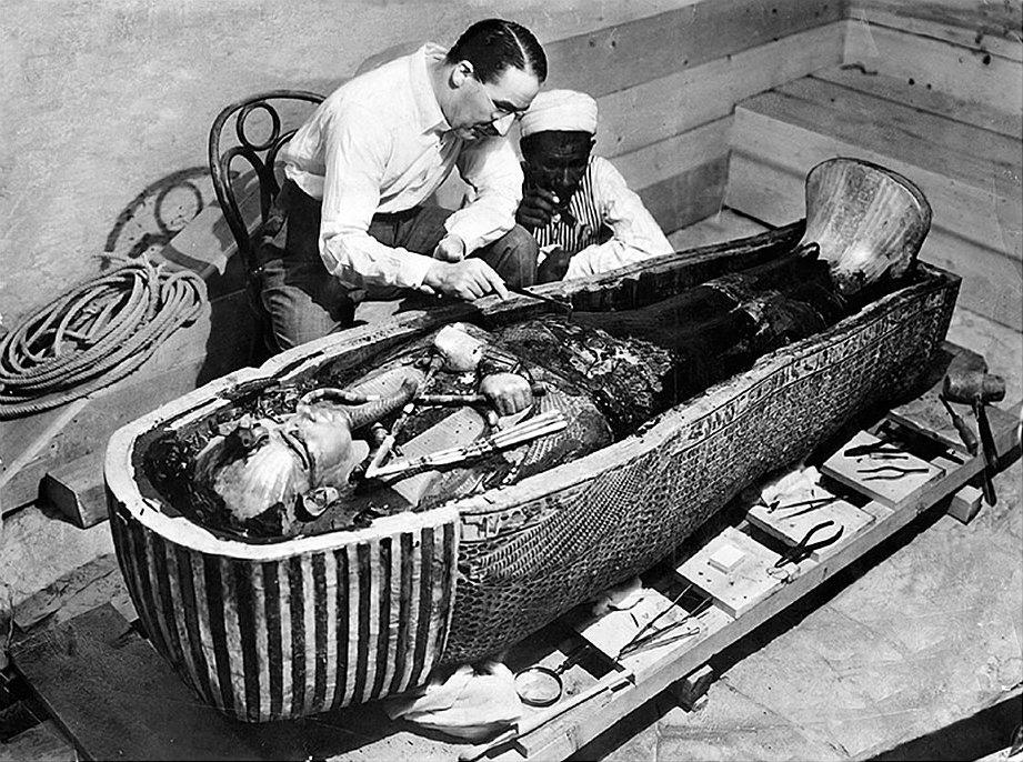 Tutanchamuns Sarg