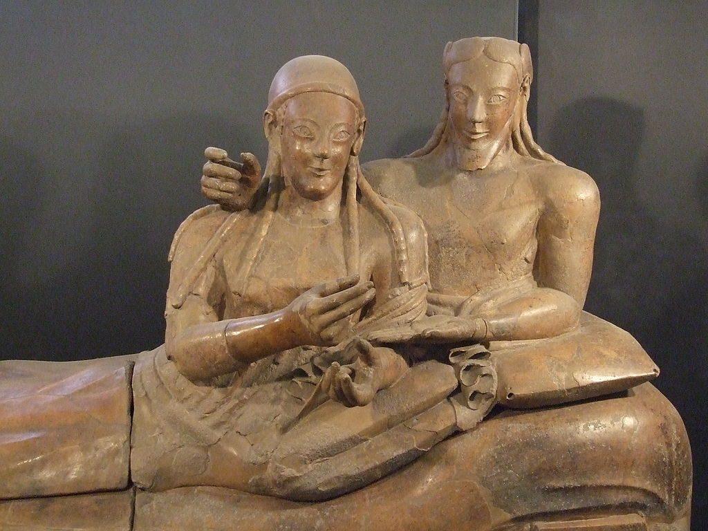 etruskischer Sarkophag