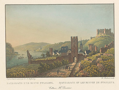 Bacharach um 1830