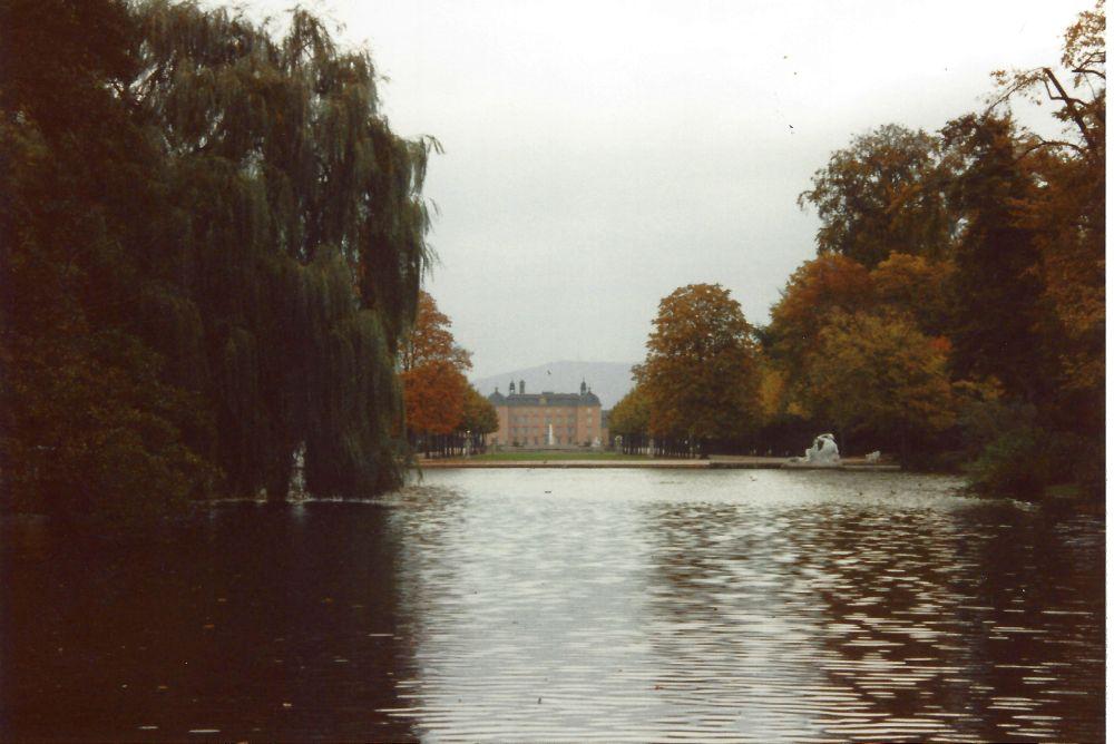 Blick auf Schloss Schwetzingen