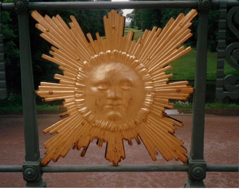 Schwetzingen - Sonne am ApolloTempel