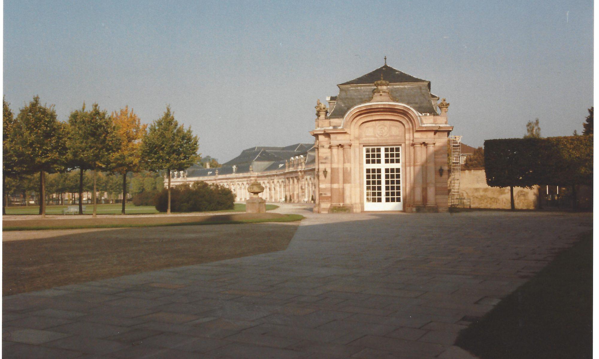 Zirkelbau des Schwetzinger Schlosses