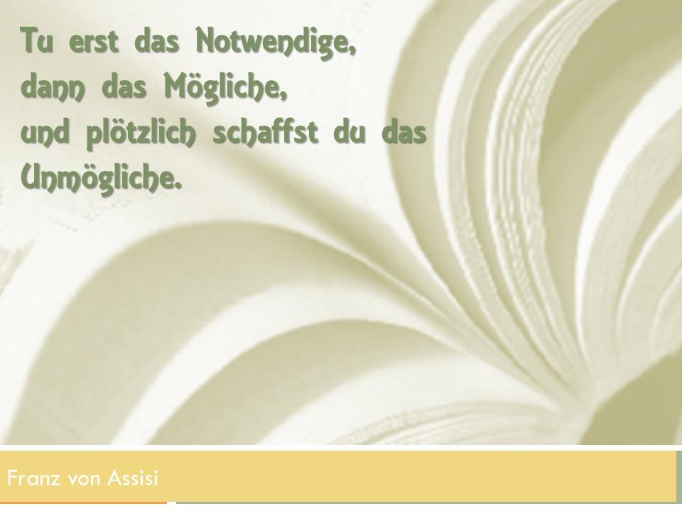 Zettelkasten #10 Franz von Assisi
