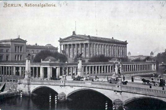 Berliner Nationalgalerie - Postkarte