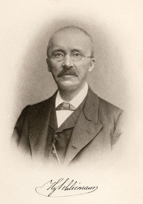 Heinrich Schliemann - Foto