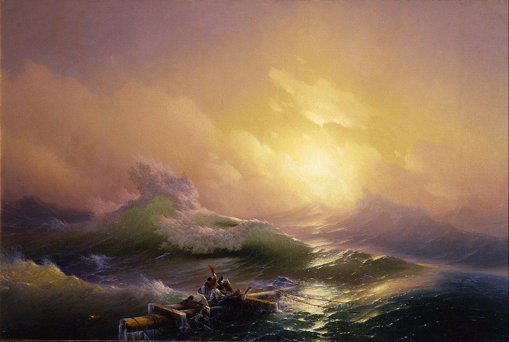 Hovhannes Aivazovsky (1817 - 1900), #DHMMeer