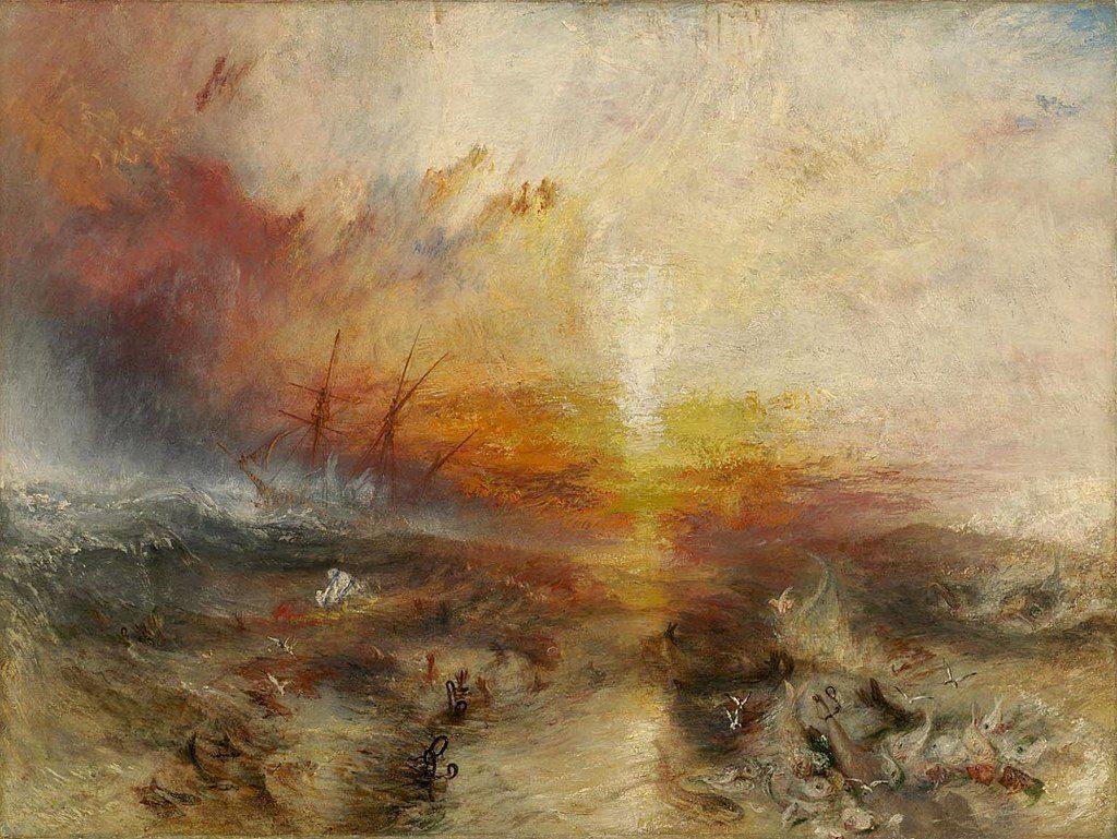 Turner, Sklavenschiff, #DHMMeer