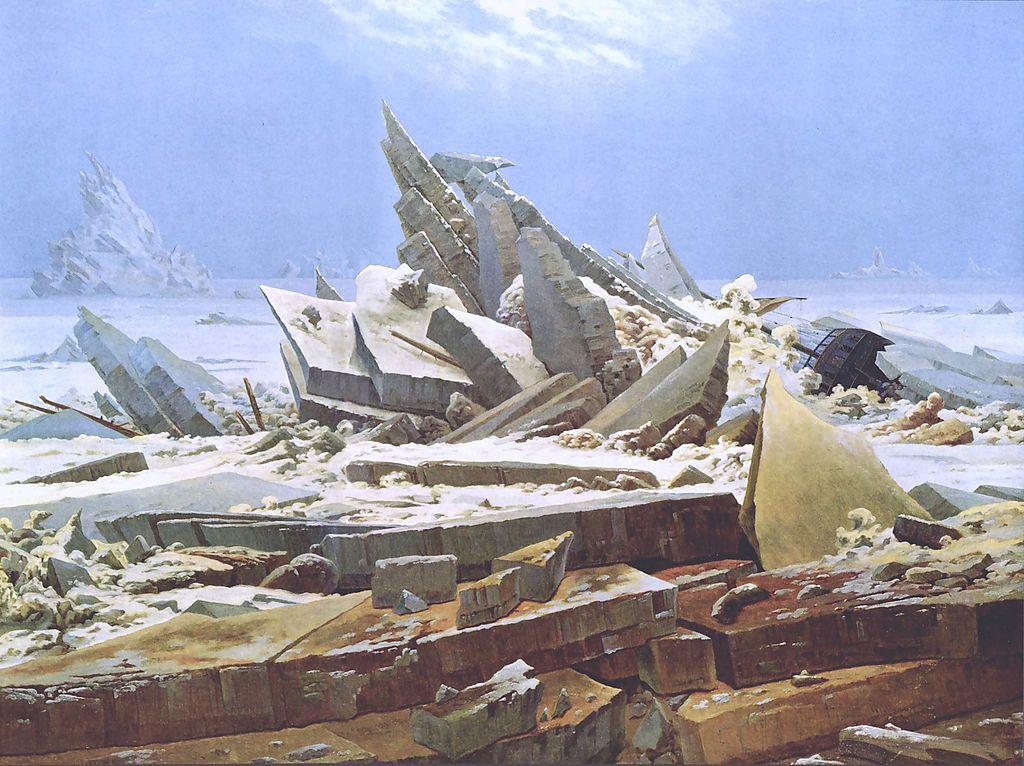Caspar David Friedrich, #DHMMeer