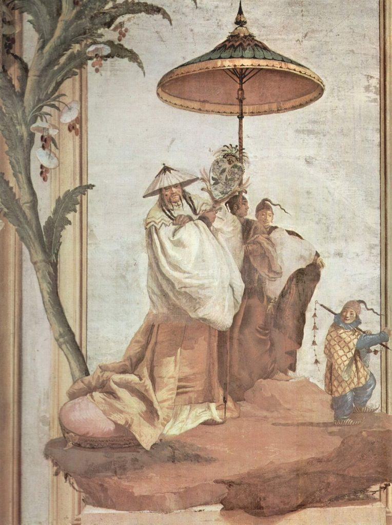 Chinoiserie, Giovanni Domenico Tiepolo, Mandarinenbaum