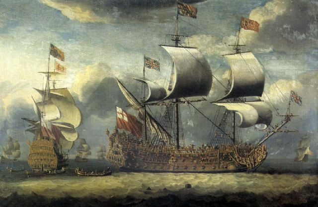 Isaac Sailmaker, The first Britannia, #DHMMeer