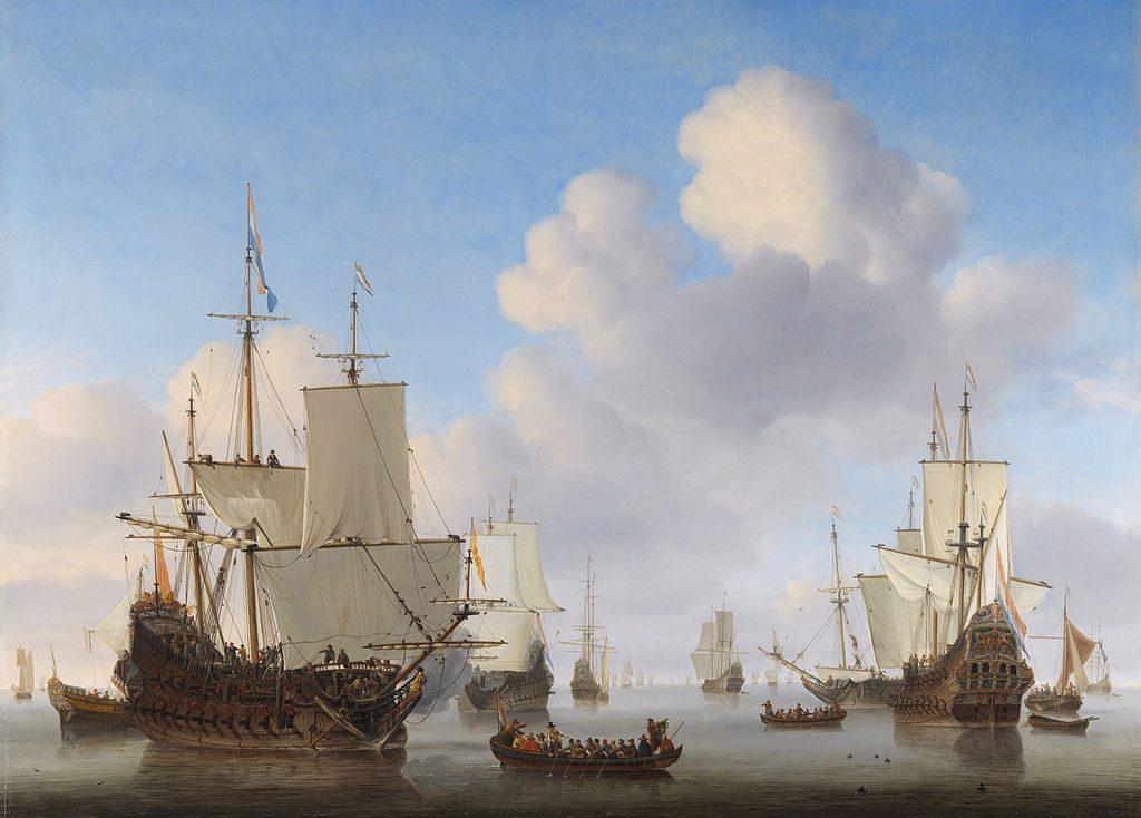 Willem van de Velde II, #DHMMeer