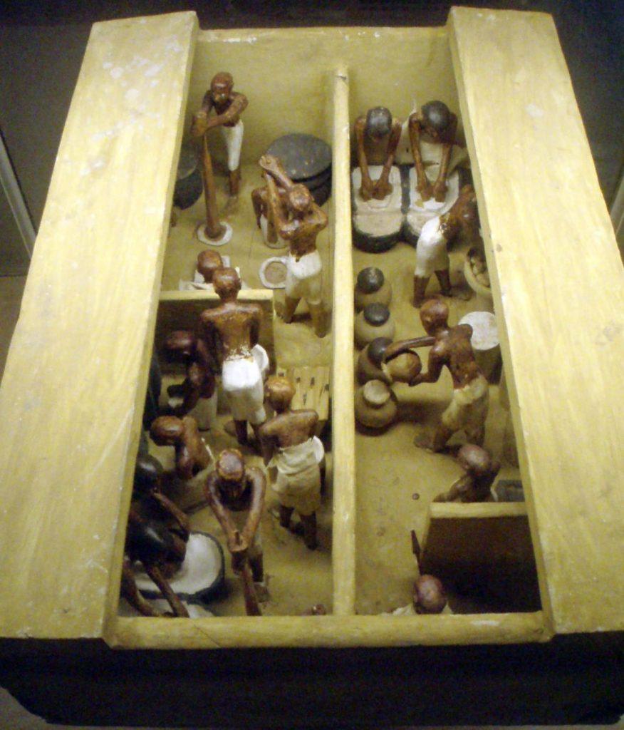 Bierbrauen im Alten Ägypten - Backen im Alten Ägypten