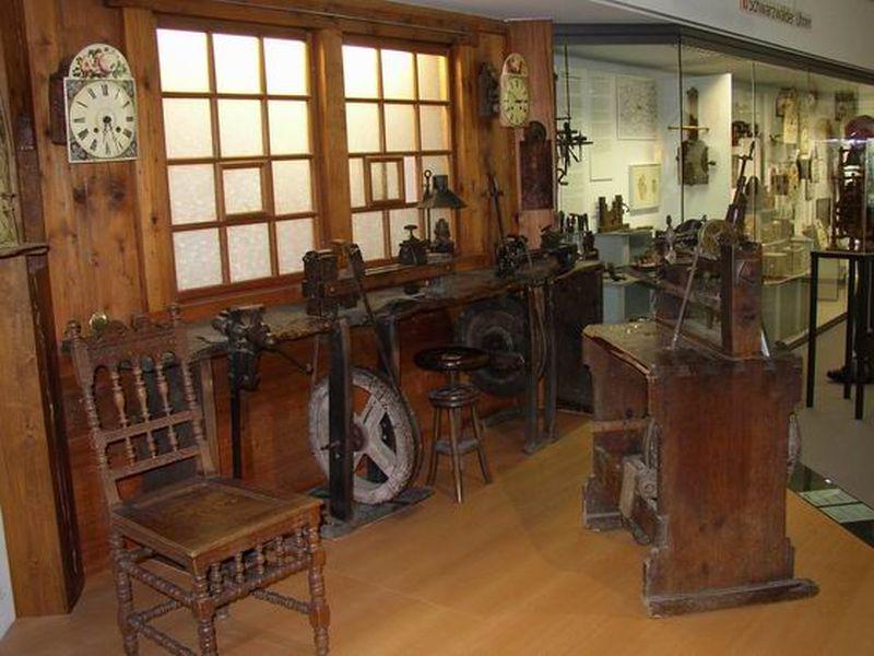 Innenansicht des Deutschen Uhrenmuseums in Furtwangen