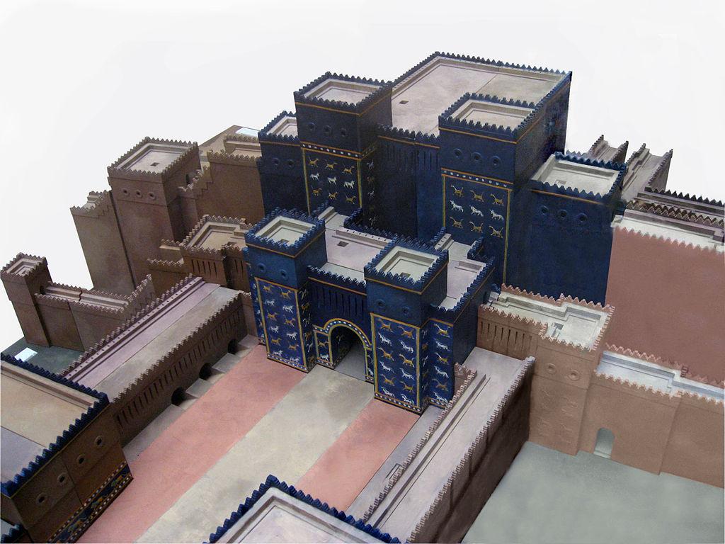 Modell des Ischtar-Tores, Babylon