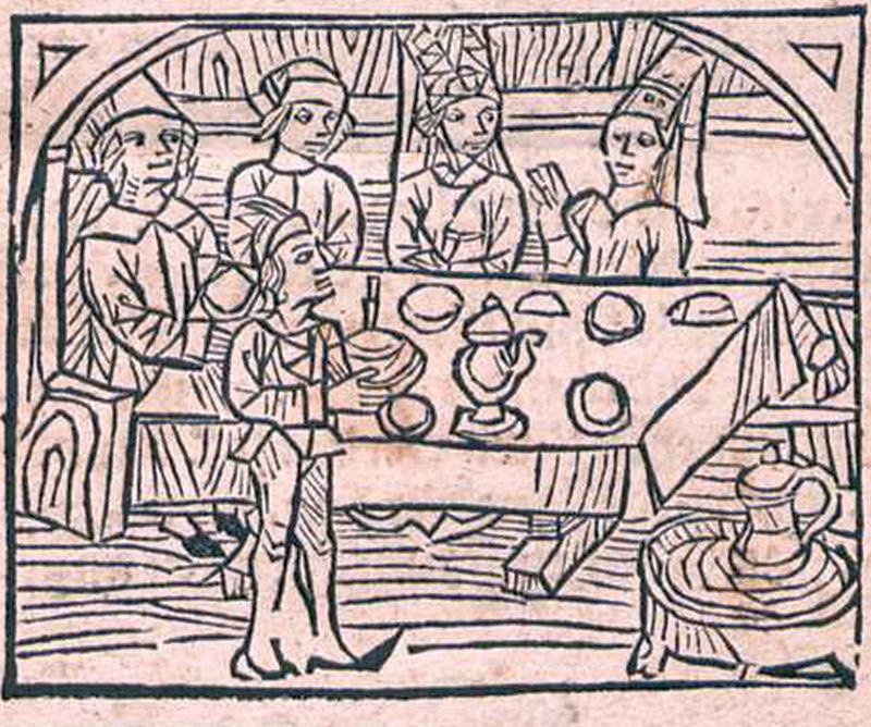 Tischzucht Jakob Köbel Bild erste Seite