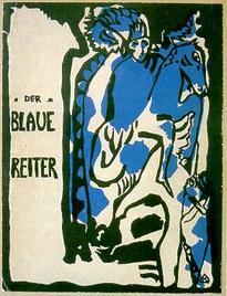 Blauer Reiter - Umschlagillustration von Kandinsky