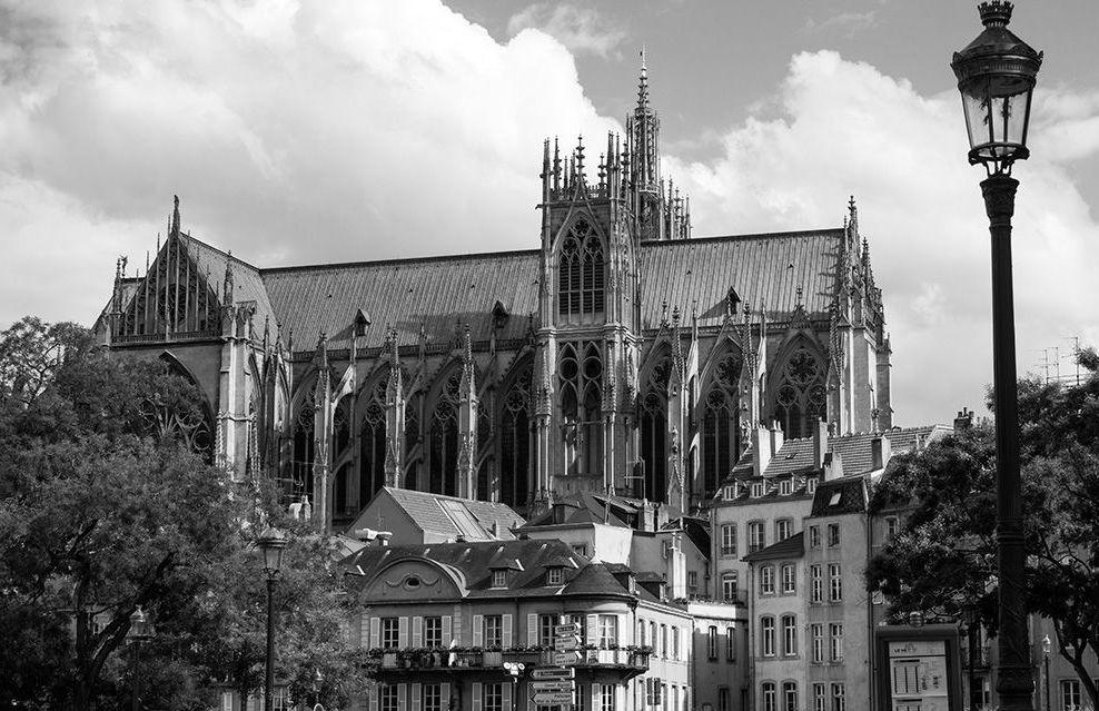 Kathedrale Saint Etienne - Metz, Lothringen