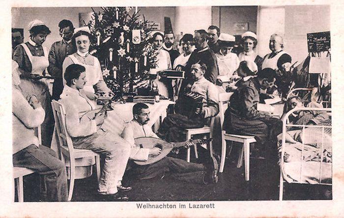 """Weihnachten im Lazarett im 1. Weltkrieg """"Grand Guerre"""" """"Great War"""""""