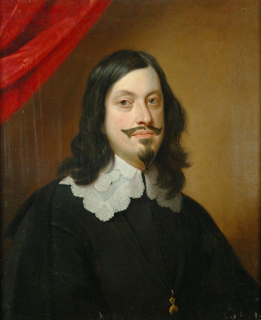 Porträt Kaiser Ferdinands III. von Jan van den Hoecke ca. 1643