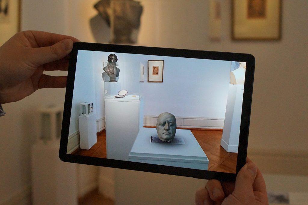 Augmented Reality im Goethe-Museum Düsseldorf Kulturvermittlung digital