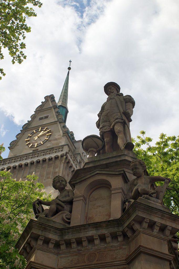 Mercatorbrunnen Duisburg