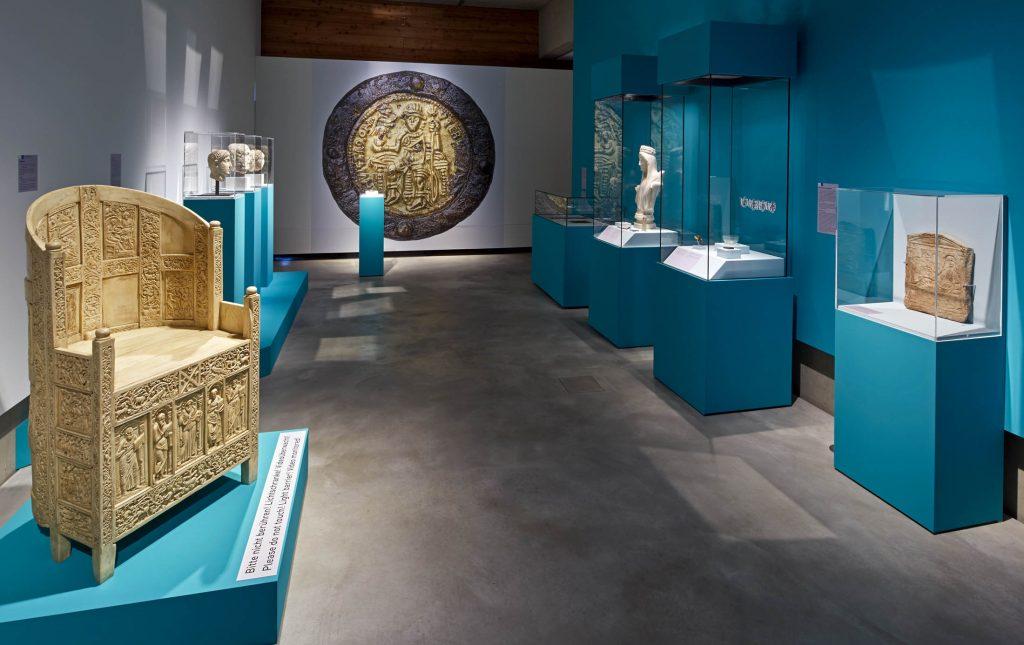 Das Erbe Roms in der Ausstellung Europa in Bewegung im LVR-LandesMuseum Bonn. Foto: J. Vogel, LVR-LandesMuseum Bonn.