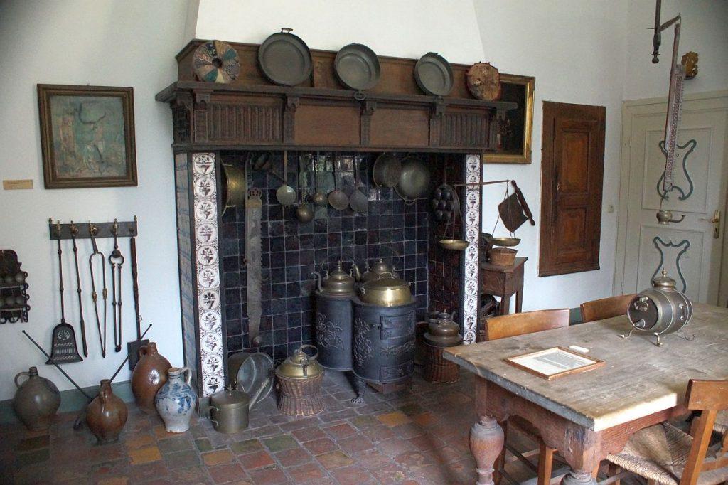 Küche Jagdschloss Linn