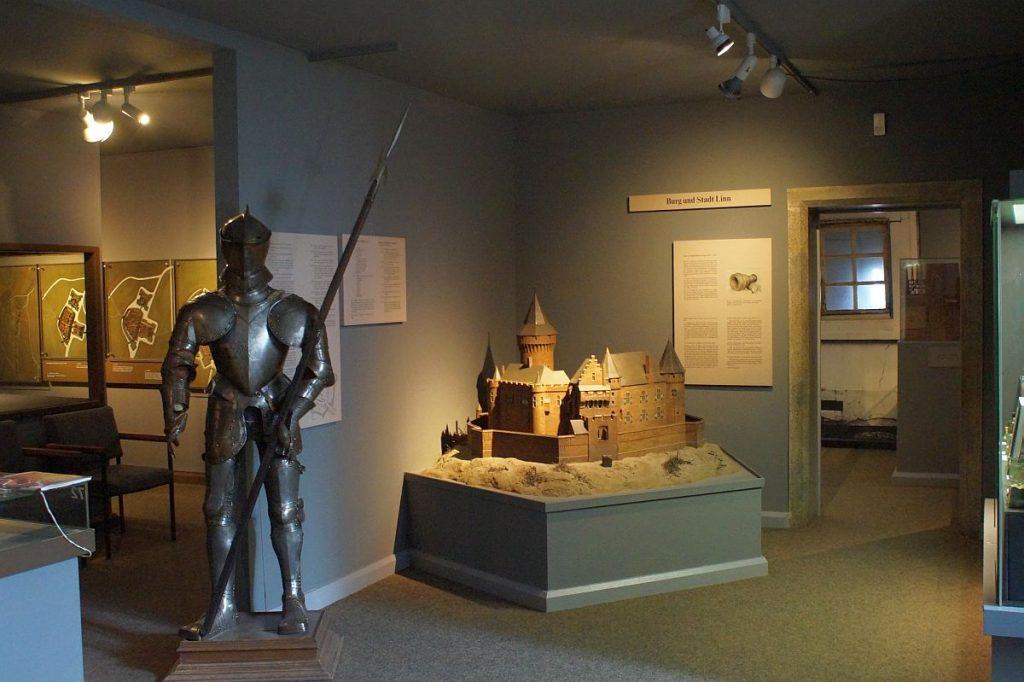 Stadtmodelle und Regionalgeschichte - Museumszentrum Burg Linn