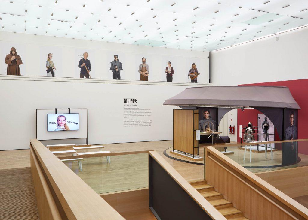 """Mitmachausstellung """"Ritter und Burgen"""" LVR-Landesmuseum Bonn"""