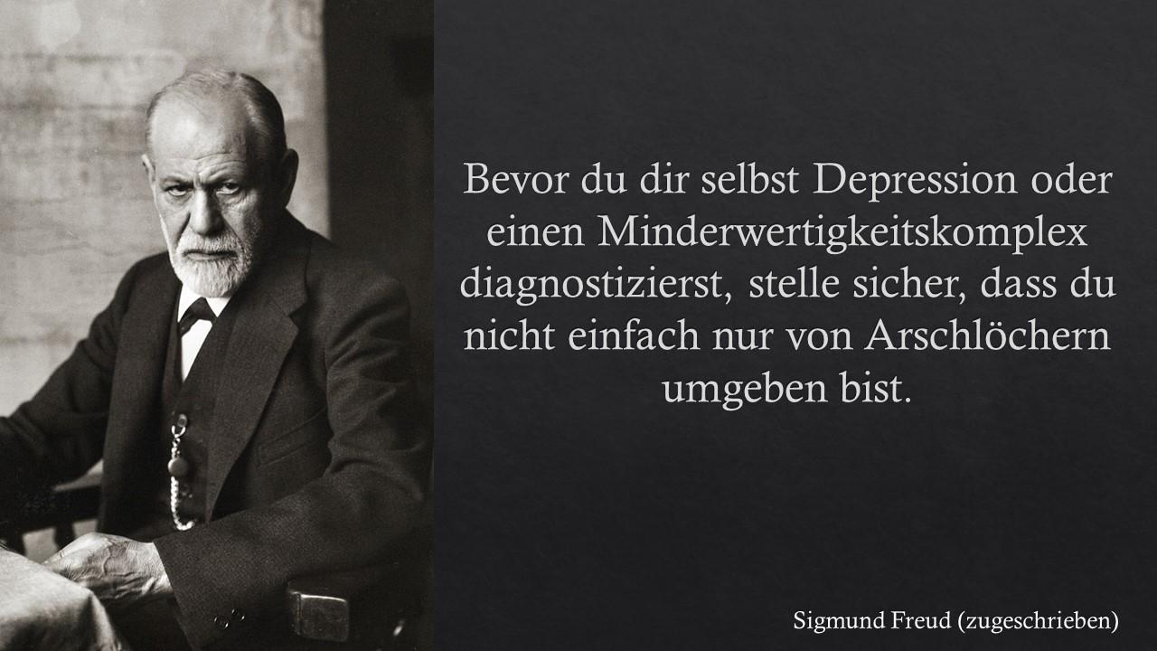 Sigmund Freud über Depression