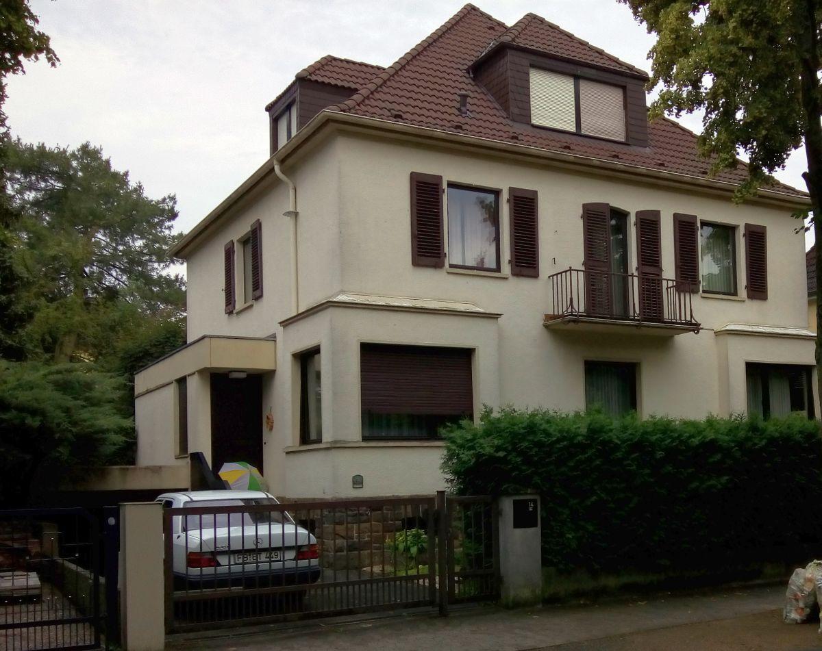 Goethestraße 14, Bad Nauheim, ehemaliges Wohnhaus Elvis Presley