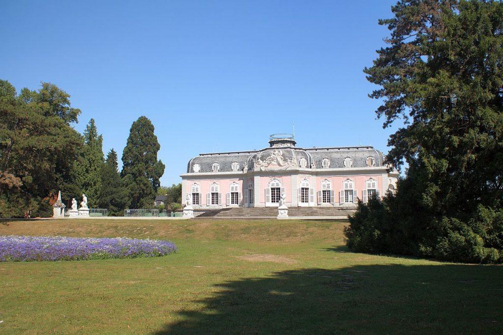 Schloss Benrath Düsseldorf - Rückansicht