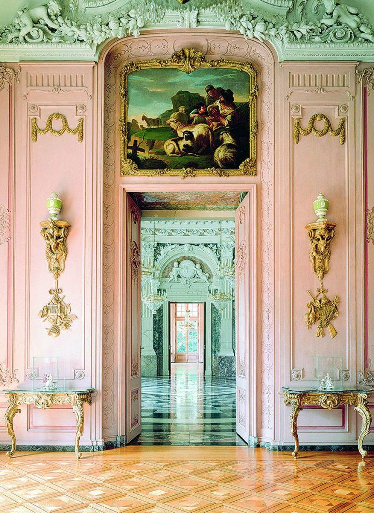 Schloss Benrath östlicher Gartensaal