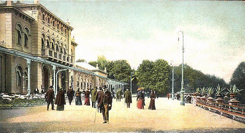 Kurhaus Bad Nauheim um 1900
