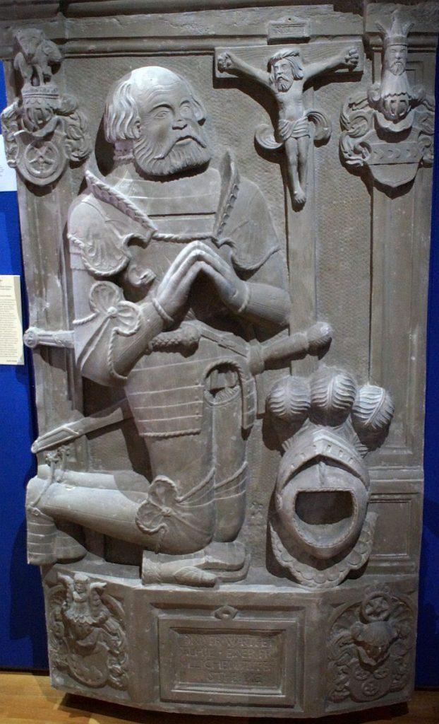 Grabmal Götz von Berlichingen - Reichskammergerichtsmuseum Wetzlar