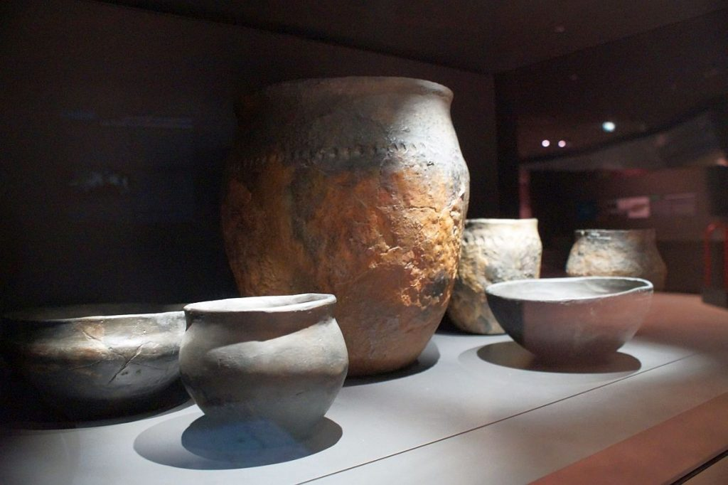 keltische Keramik - Glauberg