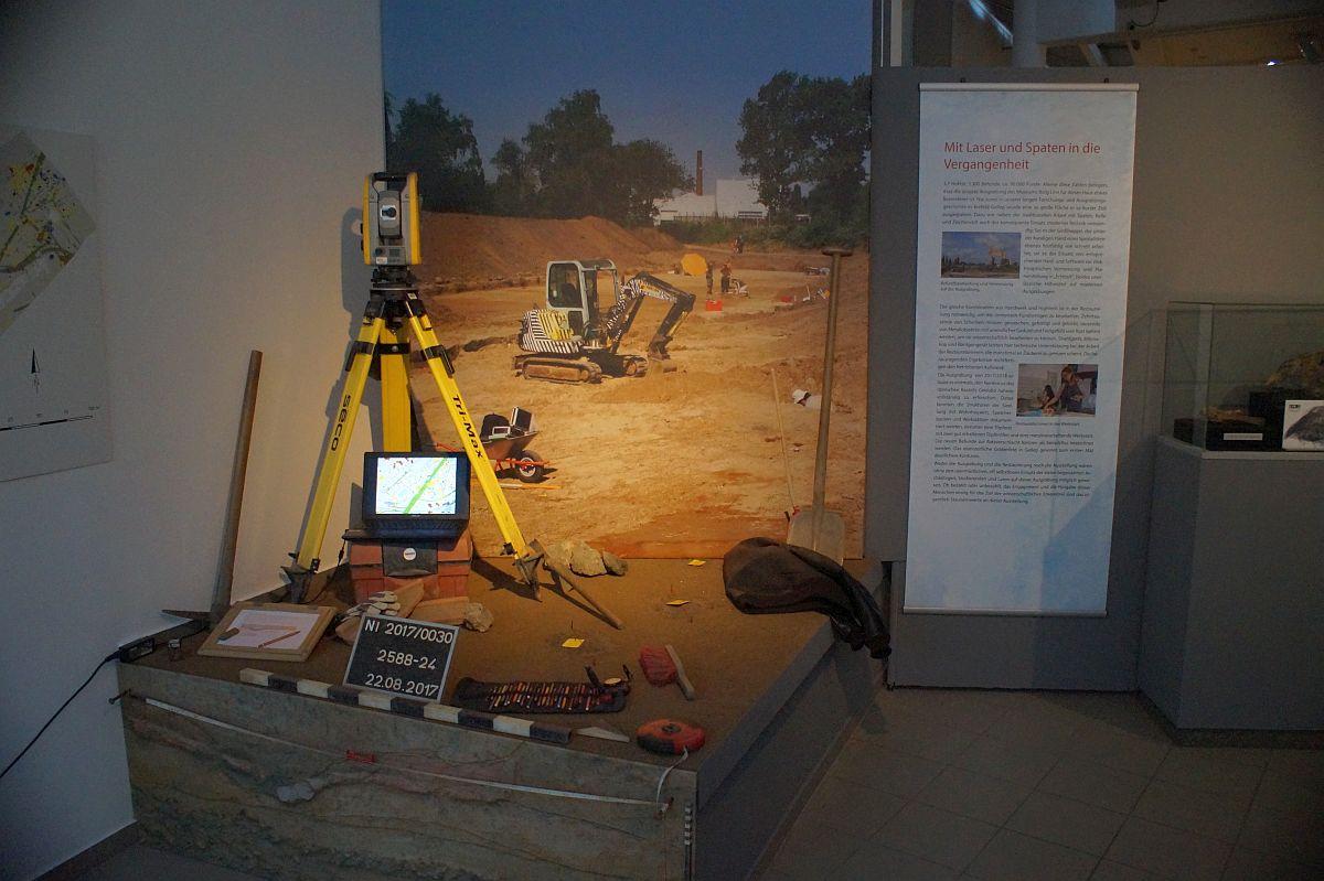 Arbeit der Archäologen