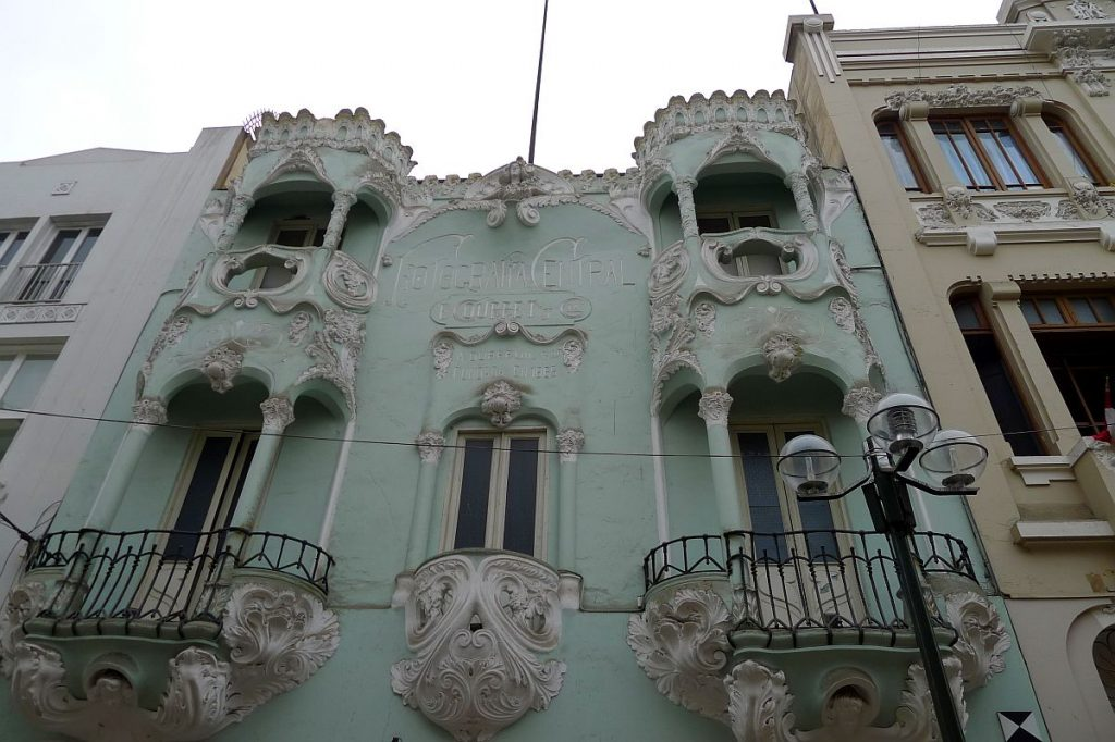 Jugendstilhaus in Lima - Foto: Jugendstilverein Bad Nauheim
