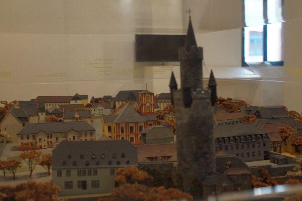 Modell Adolfsturm Wetterau-Museum Friedberg Hessen