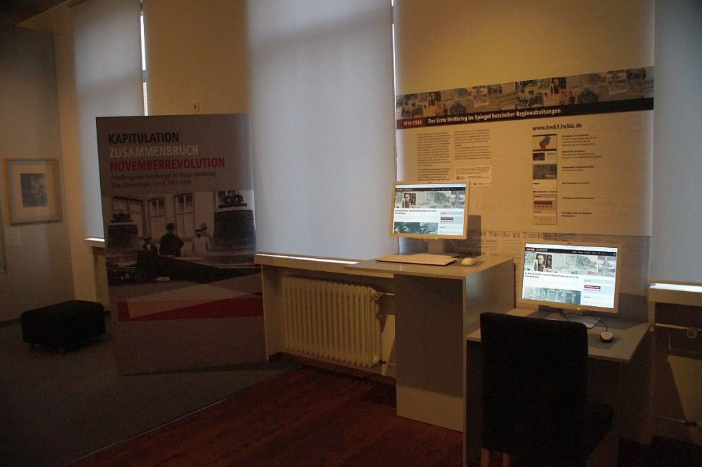 Ausstellung 1. Weltkrieg Wetterau Museum Friedberg Hessen