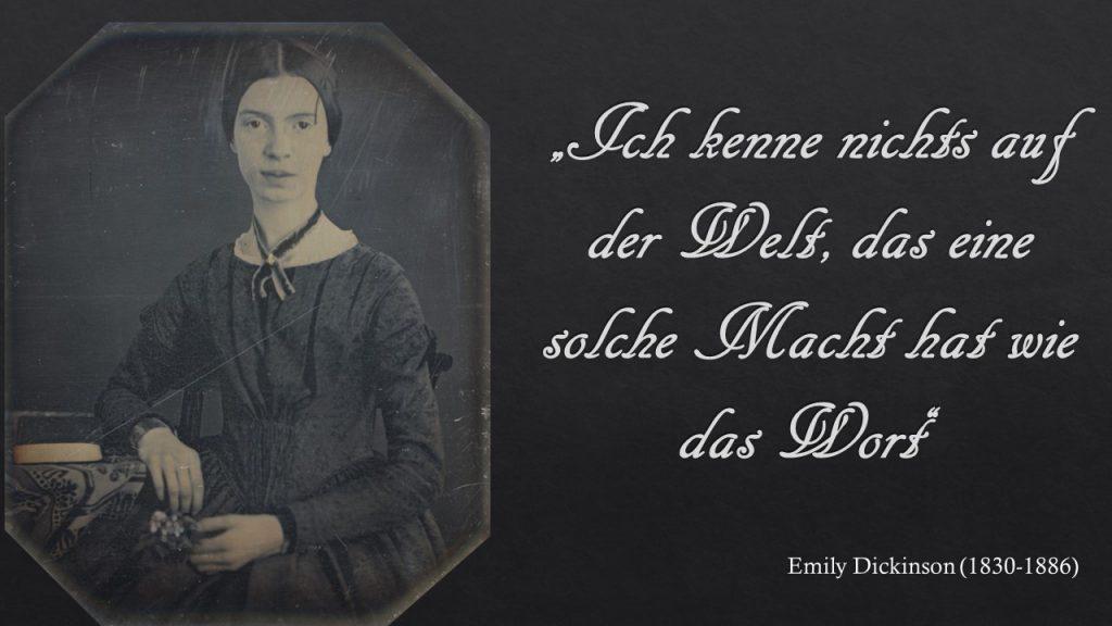 Emily Dickinson Zitat